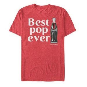 Coca Cola Best Pop Ever Print XLT Men's Tshirt